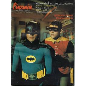 1990 Revista Cinemin Nº 63 Ebal Capa Seriado Batman E Robin