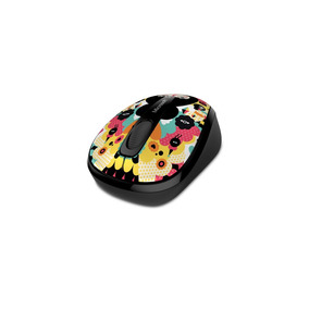 Mouse Microsoft Inalámbrico 3500 Serie Artística
