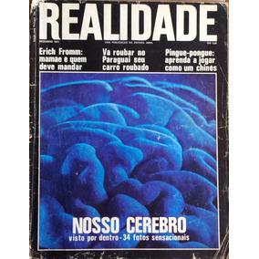 Revista Realidade Dezembro 1971 Nosso Cérebro Por Dentro