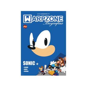 Livro Biografias Sonic - Warpzone - Novo E Lacrado
