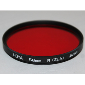 Filtro Hoya Red 25a (a5825a) 58 Mm Japan