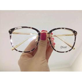 9f9a9f14c Armação Quadrada De Grau Armacoes Dior - Óculos no Mercado Livre Brasil