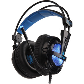 Fone Headset Gamer 7.1 Usb Rgb Sades Locust Plus