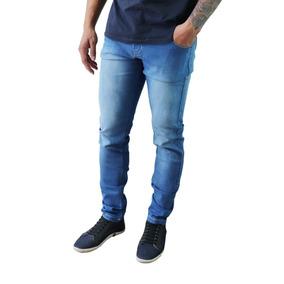 Kit Atacado 5 Calça Jeans Masculina Skinny Lycra Tradicional