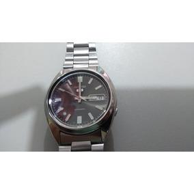 a8a45a31a69 Relogio Seiko 5 Olho De Gato - Relógios Antigos e de Coleção no ...