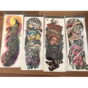 Tatuajes Temporales Mangas 45x16 Cm - Varios Modelos
