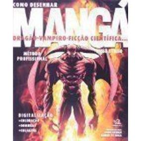 Livro Como Desenhar Manga Dragão, Vampiro Nobu Chinen