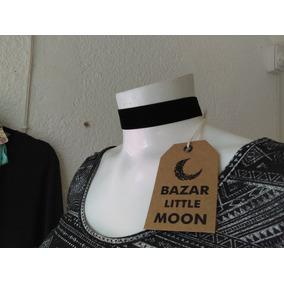 Collar Gargantilla Terciopelo Vintage Accesorio Mujer