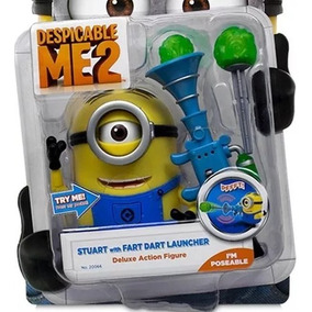 Minion Stuart With Fart Dart Launcher