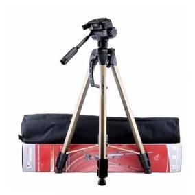 Tripé P/ Câmera Canon/nikon/sony Alúminio Robusto Wf 3770