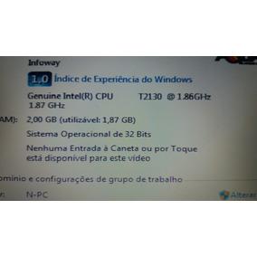 Notebook Itautec 2gb W7635