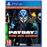 Pay Day 2 The Big Score Dlc Ps4 Disco Videojuegos Físico