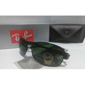 879b6f09f0c22 Ray Ban 3379 Preto Lente Cristal Verde G15 De Sol Round - Óculos De ...