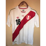Camiseta Umbro Elite Version Peru Contra Francia 2018