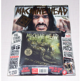 Machine Head - Unto The Locust (revista+cd+poster+patcth
