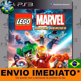 Jogo Ps3 Lego Marvel Super Heroes Psn Play 3 Mídia Digital
