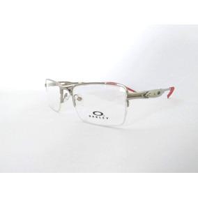 8d804c1505c9c Armacao Grau Masculino De Metal Oakley - Óculos no Mercado Livre Brasil