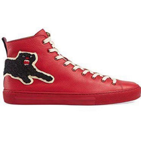 Sneakers Tennis Gucci High Top W/ Panther 29mx