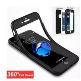 Capa iPhone Tpu 360 iPhone 6 6s 7 8 X / Plus + Pel. Vidro
