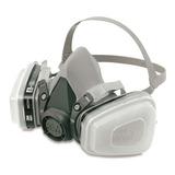 Respirador Mascara Pintura 3m 6200 5n11 501 - 6001 Completa