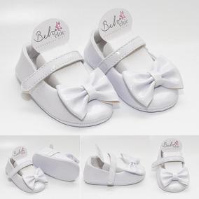Sapatilha Bebê Verniz Velcro Belochic