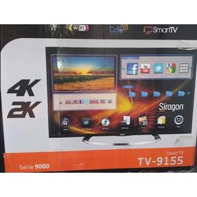Smart Tv 55 Siragon 4k Led Slim Wifi Siragon Factura Y Caja