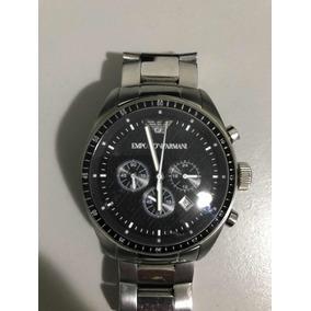 aa4800071e7 Relógio Emporio Armani Aço no Mercado Livre Brasil