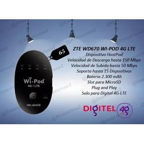 * Router Portatil 4g Lte Liberado Digitel