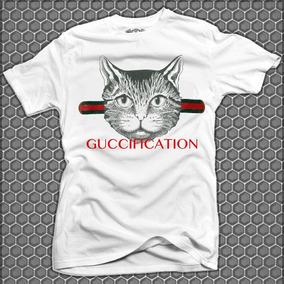 Playera  Gato cat gucci supreme moda Japonesa doinko 015292ba3b2