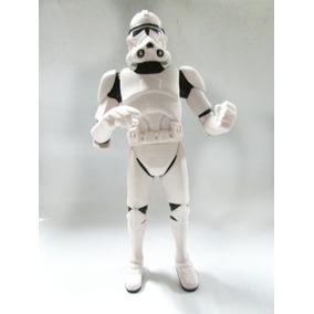 Cofre Boneco Miniatura Star Wars Clonetrooper Soldado