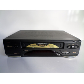 Vídeo Cassete Philips Vr 457 Turbo Drive 4 Cabeças - Sucata