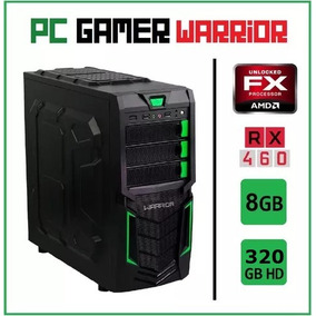 [desconto] Pc Gamer Warrior Amd Fx6300 8gb Rx460
