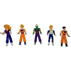 Bonecos Articulados Dragon Ball Z Kit Com 5 Unidades