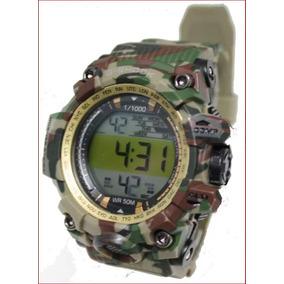 Relógios G-shock Camuflado Digital 50 M + Caixa