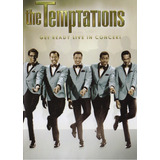 The Temptations Get Ready Live In Concert Concierto Dvd