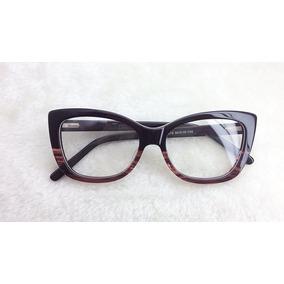 7a9bfde95dc2f Armaçao De Oculos Feminino Discreto - Óculos no Mercado Livre Brasil