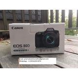 Nueva Canon Eos 80d Cámara Digital
