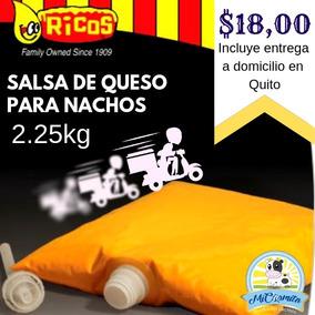 Queso Salsa Cheddar Nachos 2.25 Kg Entrega Quito Provincias