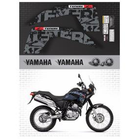 Kit Completo Adesivo Yamaha Tenere 250 2013 Preta Tnr008