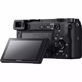 Maquina Sony A6300 Mirroless (corpo) Microfone/flash Externo