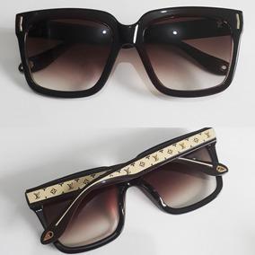 f98400fed4fb3 Óculos Feminino Quadrado Bonito Estiloso Proteção Uv400