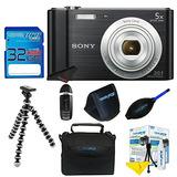 Sony Cyber-shot Dsc-w800 Digital Camera (black) + 32gb Pixi-