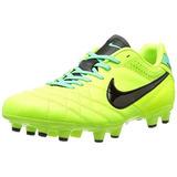 Botines De Fútbol Nike Tiempo Natural Iv De Cuero Fg Volt. eadbbcaef16ae