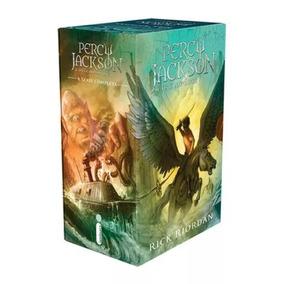 Box Percy Jackson E Os Olimpianos (5 Volumes) Novo E Lacrado