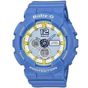 Relógio Baby-g Ba-120-2b (azul)