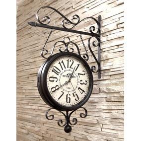f714edb4988 Relógio De Parede Dupla Face Com Pássaro - Relógios De Parede no ...