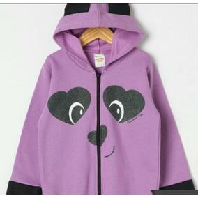 Blusa Infantil Menina - Moletom Violeta no Mercado Livre Brasil 09b1c4ceeba