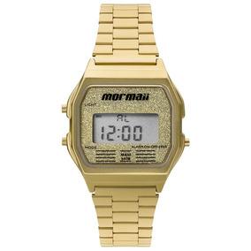 Relógio De Pulso Mormaii Vintage Dourado