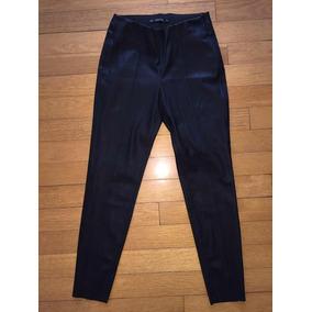 Cuero Mercado Pantalones Mujer De Rojo En Chupín Zara Pantalon f7y6gbY