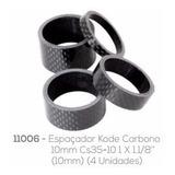 Espaçador Kode 28.6mm 10mm Carbono (4 Unidades)